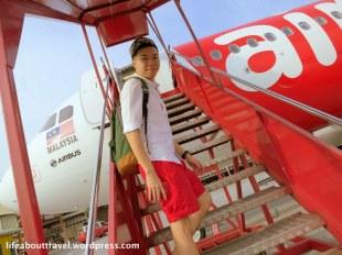 Boarding AirAsia