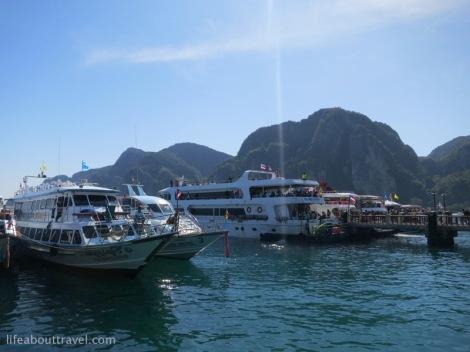 The jetty in Koh Phi Phi, Jan 2013