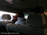 The mini van