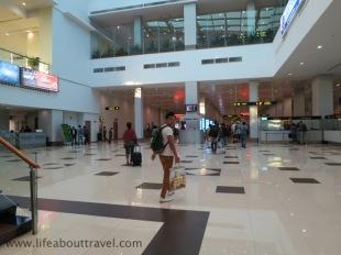 Arriving Yangon Airport