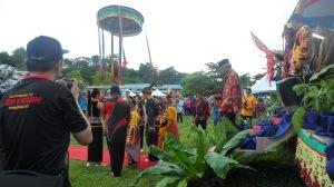 Opening ceremony of Tamu Besar