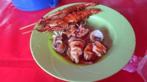 My mini seafood platter