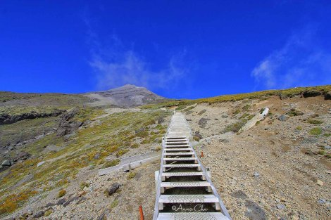 No shortcut to Mount Taranki Summit