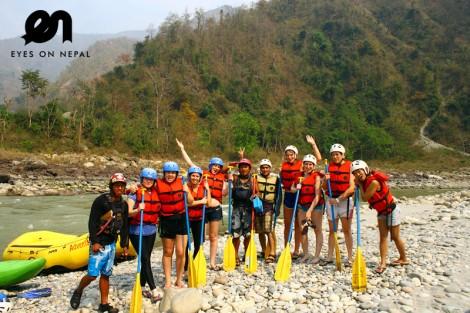 trishuli river rafting nepal 13
