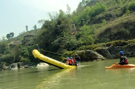 trishuli river rafting nepal