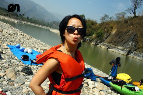 trishuli water rafting nepal