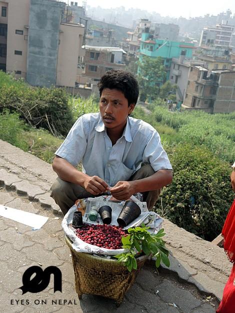 cranberry seller